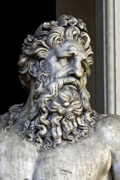 Rio Tiber -det-. Museos Vaticanos. VAT.-