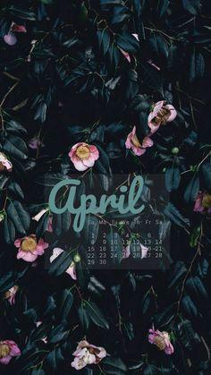 ✍︎#april #month #calendar #2018 #wallpaper #fondos