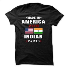 AMERICA WITH INDIAN PART - #v neck tee #tshirt customizada. I WANT THIS => https://www.sunfrog.com/States/AMERICA-WITH-INDIAN-PART.html?68278