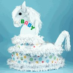 My Little Pony Diaper Cake (Grand Version)