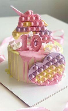 Fidget Spinner Cakes, Candy Birthday Cakes, Baby Birthday, Dream Cake, Cake Pictures, Cake Shop, Cata, No Bake Cake, Amazing Cakes