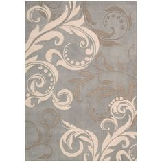 I pinned this Scroll Contour Rug from the Nourison event at Joss and Main!