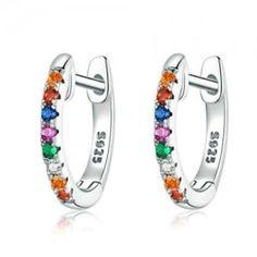 Cuff Earrings, Circle Earrings, Silver Hoop Earrings, Silver Cuff, Silver Jewelry, 925 Silver, Silver Metal, Mini Creole, Ear Cuffs