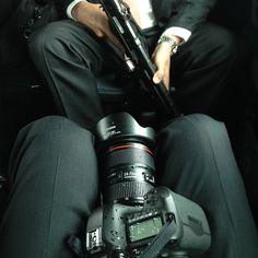 Picture of Pete Souza's camera