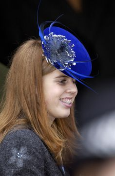 Princess Beatrice on Christmas day at Sandringham Church 2002  -   Well--EXCUSE ME!!! She had A Failed Braces Experience! LOL!