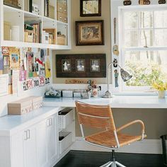 Many people are making a home office now. This idea is good for you who need to work at home comfortably. Creating a comfortable home office is not as easy as it seen. It need an inspiration to help you select the perfect corner office design for you. Home Office Space, Home Office Design, Home Design, Interior Design, Desk Space, Design Design, Office Spaces, Office Designs, Design Ideas