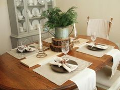 Rustic christmas table decorationsModern Home Interior Design