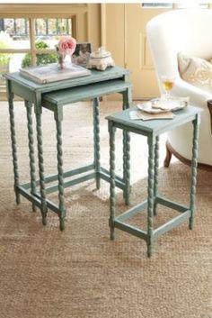 Riviera Nesting Tables | Soft Surroundings