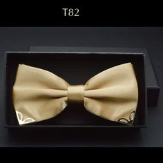 Red bow tie for men