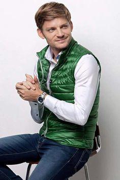 David Goffin David Goffin, Bomber Jacket, Photoshoot, Suits, Belgium, Tennis, Jackets, Men, Touch