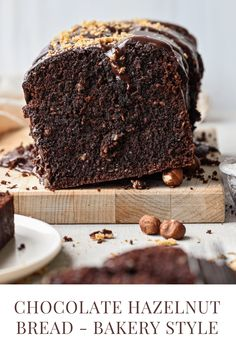 Buttermilk Recipes, Custard Recipes, Nut Recipes, Quick Bread Recipes, Banana Bread Recipes, Sweet Recipes, Dessert Recipes, Desserts, Chocolate Loaf Cake