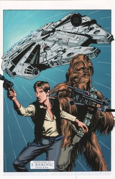 Millennium Falcon, Comics Online, Chewbacca, Star Wars, Han Solo, Stars, Movie Posters, Movies, Fictional Characters