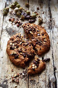 Le cookie géant vegan d'Estelle Beignets, Cupcakes, Cake Blog, Vegan Cake, Four, Food Inspiration, Cookies Et Biscuits, Dorian Cuisine, Sweet Treats