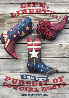 """""""happiness"""" and cowgirl boots are basically the same thing ... right? {junk gypsy co}"""
