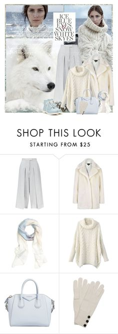 """""""ICE"""" by gustosa ❤ liked on Polyvore featuring Whistles, Topshop, Brooks Brothers, Givenchy, Wyatt and Shellys"""