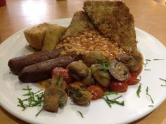 Eighth Day Café (Eighth Day Co-op) in Manchester. Recommended by India Tayler. Vegan Cafe, Vegan Vegetarian, Manchester Restaurants, The Eighth Day, Cafe Restaurant, Newcastle, Places To Eat, Sausage, Pork