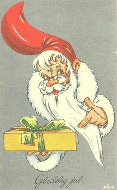 Julekort Serie 59 Afsendt 1953 og 1954