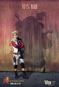 """Descendants"" Carlos / Cruella 101% Bad poster"