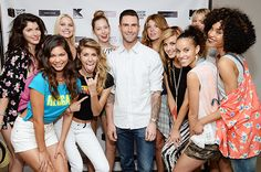 Maroon 5's Adam Levine launches his summer women's line! #Maroon5 #AdamLevine