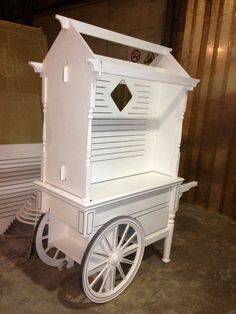 painted.+Victorian.+vendor+carts | Collapsible Victorian style Cart RMU (retail merchandising unit ...