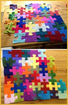 Puzzle Pieces - Knitting Pattern knitting for beginners knitting ideas knitting patterns knitting projects knitting sweater Knitting Charts, Loom Knitting, Knitting Stitches, Knitting Patterns Free, Baby Knitting, Stitch Patterns, Crochet Patterns, Free Knitting, Free Pattern