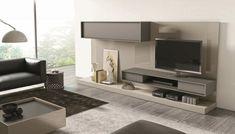 mueble en gris diseñado para J&M Furniture