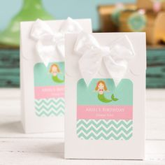 Looking for a unique way to send your birthday party guests home with a sweet treat? Birthday Candy, Birthday Parties, Under The Sea Party, Candy Bags, Party In A Box, Mermaid Birthday, Party Guests, The Little Mermaid, Sweet Treats