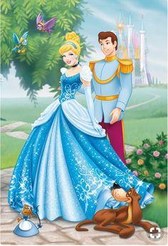 "Photo from album ""Золушка"" on Yandex. Cinderella And Prince Charming, Disney Princess Cinderella, Princess Aurora, Disney Mickey, Disney Art, Walt Disney, Mickey Mouse, Bambi, Adventure Time Princesses"