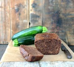 Chocolate Zucchini Bread paleo recipe