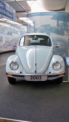 This is from the best VW museum in Wolfsburg, Germany..... A must stop for any VW fan! Stiftung Auto Museum