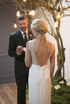 Photography: Les Productions De La Fabrik   lesproductionsdelafabrik.com Wedding Dress: Lora Folk   lorafolk.com   View more: http://stylemepretty.com/vault/gallery/55629