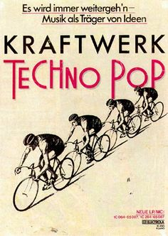 This sleeve design is unusual : this legendary release from Kraftwerk is either famous and. Techno, Florian Schneider, Psychedelic Bands, Rock & Pop, Pops Concert, Music Flyer, Music Page, Music Album Covers, Music Artwork