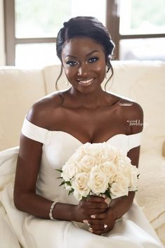 Tayos Bridal Glow was FLAWLESS! Heres How Joy Adenuga Did it in Croatia Check out the back below More on or the link in our bio Bride: Makeup: Hair Black Wedding Hairstyles, Bride Hairstyles, Dreadlock Hairstyles, Scarf Hairstyles, Black Hairstyles, Celebrity Hairstyles, Bridal Hair And Makeup, Bride Makeup, Black Bridal Makeup