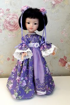 """""""Маленькая Стрекоза"""". Наряды для кукол Paola Reina."""
