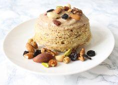 Sweet Recipes, Healthy Recipes, Healthy Food, Ww Desserts, Desserts Fruits, Dessert Aux Fruits, Bowl Cake, Muesli, Panna Cotta