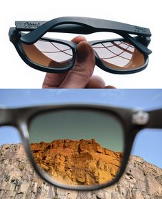 Tens Sunglasses - Wearing these new sunglasses will make your world look like one of the 70s-style Instagram filters. Warmer, more saturated, and more, well, classic.