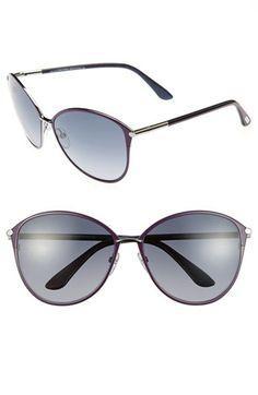 ee22a5c5ef4 Tom Ford Penelope 59mm Gradient Cat Eye Sunglasses