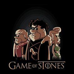 Game of Stones, #gamesofthrones #Flintstones parody
