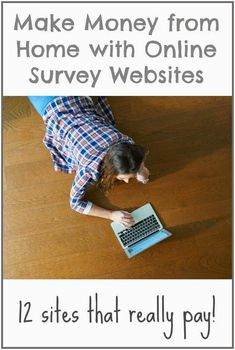 Make Money from Home With Online Survey Websites
