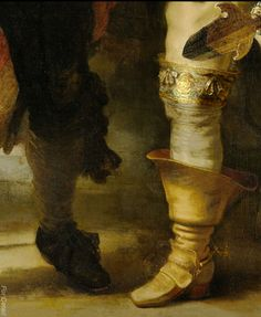 Militia Company of District II under the Command of Captain Frans Banninck Cocq, Known as the 'Night Watch', Rembrandt Harmensz. van Rijn, 1642 - Detail