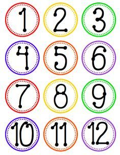 FlapJack Educational Resources: Hanging Fan Labels for Tables, Centers, or Stations with FREE Number Circles