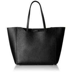 Furla Fantasia Medium Tote Bag (9.380 UYU) ❤ liked on Polyvore featuring bags, handbags, tote bags, medium leather tote, leather purses, medium tote, furla and genuine leather tote bags