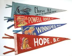 Show Some Spirit With Vintage Pennants