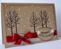 UK Independent Stampin' Up! Demonstrator - Julie Kettlewell: White Christmas