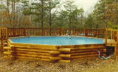 Pool for the cabin