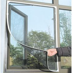 Cheap curtain styles, Buy Quality curtain screen door directly from China curtain tassle Suppliers: Insect Fly Bug Mosquito Net Door Window Net Netting Mesh Screen Curtain Protector Flyscreen DIY Window Mesh Screen, Curtain For Door Window, Window Screens, Window Inserts, Screen Doors, Anti Mosquito, Mosquito Net, Net Curtains, Mosquito Curtains