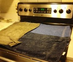 cleaning ceramic cooktops with soapy water and baking soda