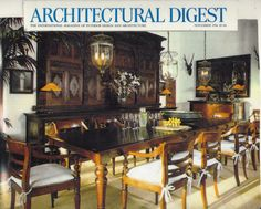 Architectural Digest. Anglo Raj Antiques