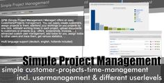 SPM - Simple Project Manager