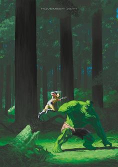 Wolverine vs. The Hulk by ememmatt on DeviantArt